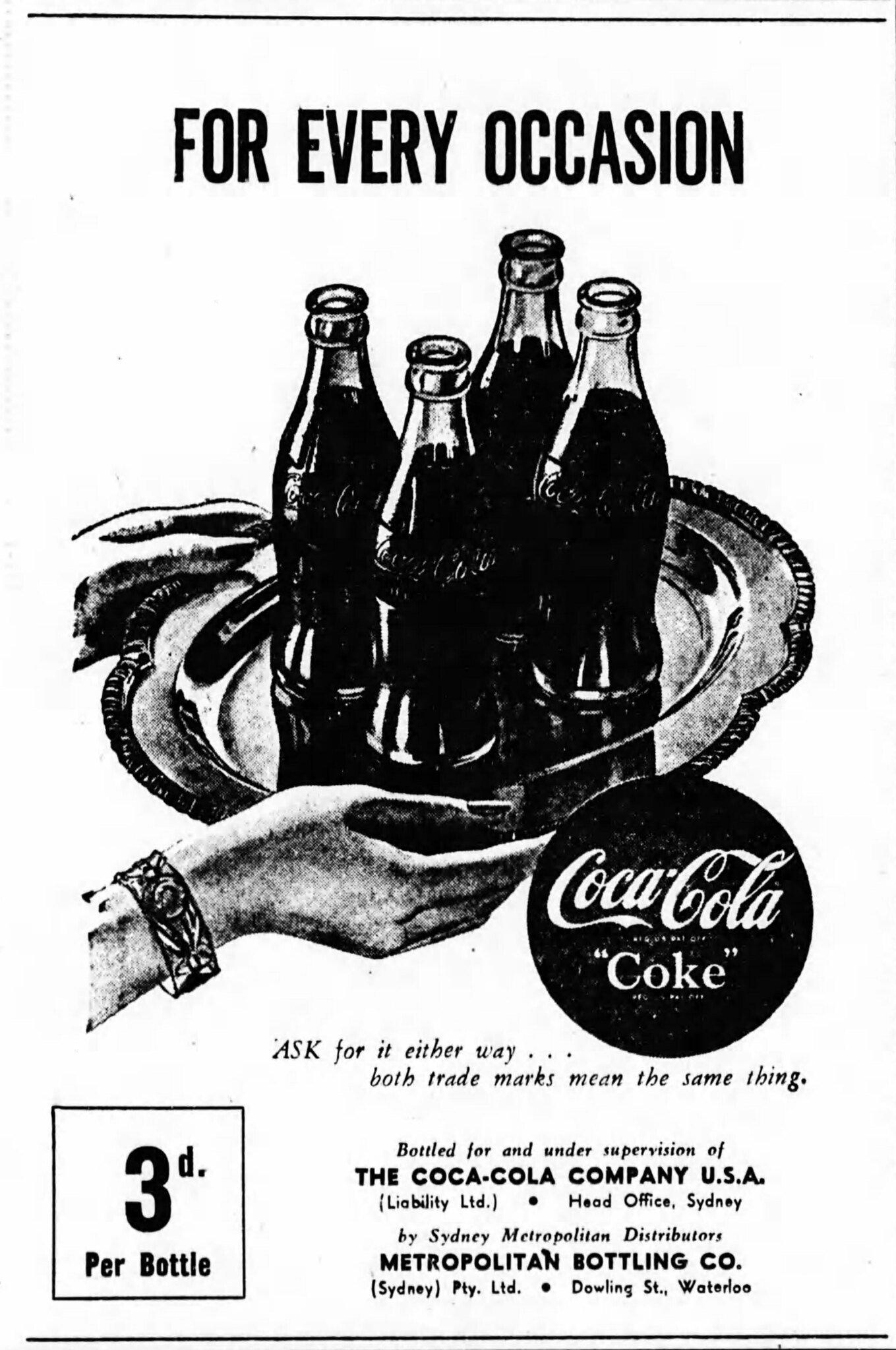 Coca Cola üveg formatervezés