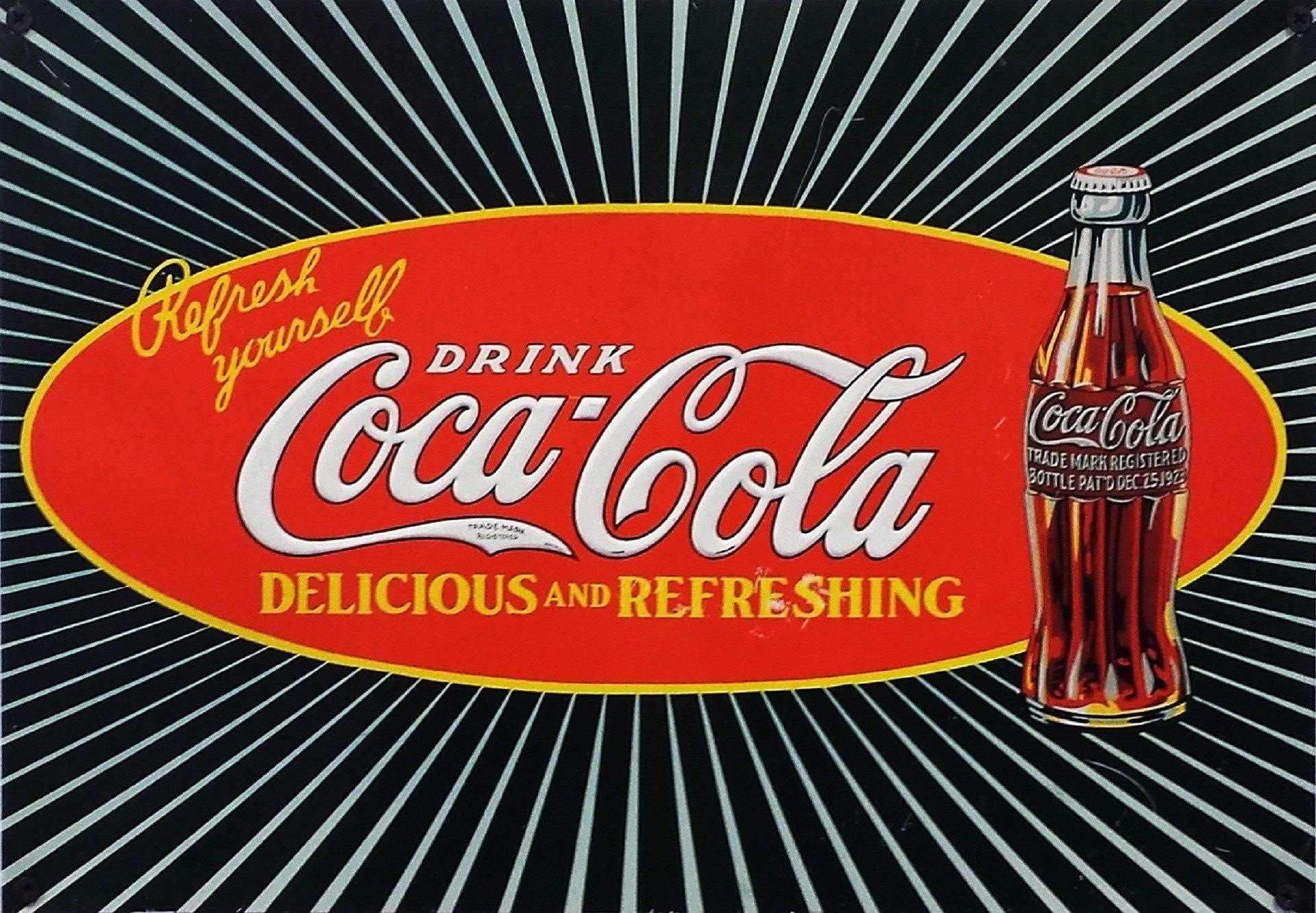 Coca Cola üveg design