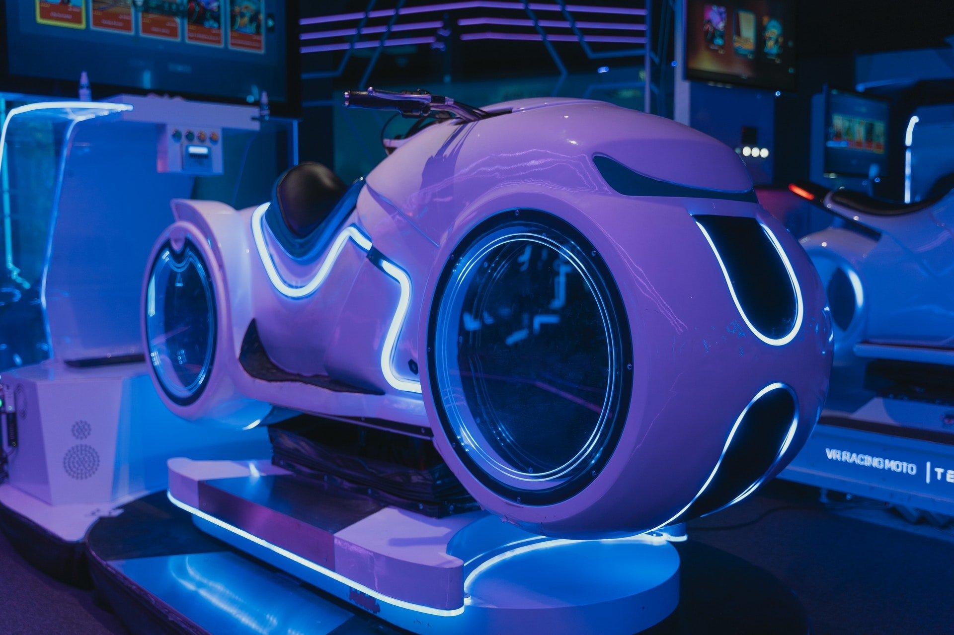 Futurisztikus motor prototípus