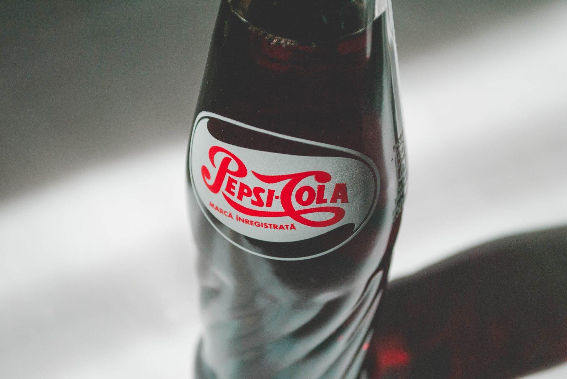 Pepsi üveg design