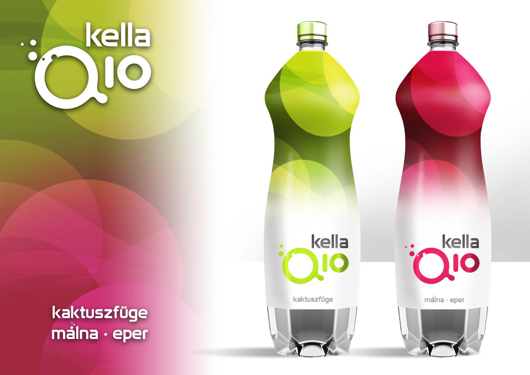 Üdítőital csomagolástervezés, product branding